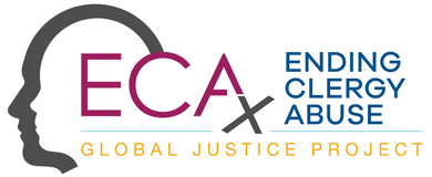 ECA Ending Clergy Abuse-Global Justice Project Logo