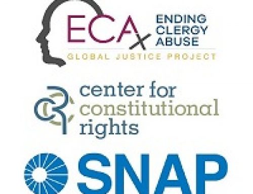 Global survivors of clergy abuse join SNAP & CCR