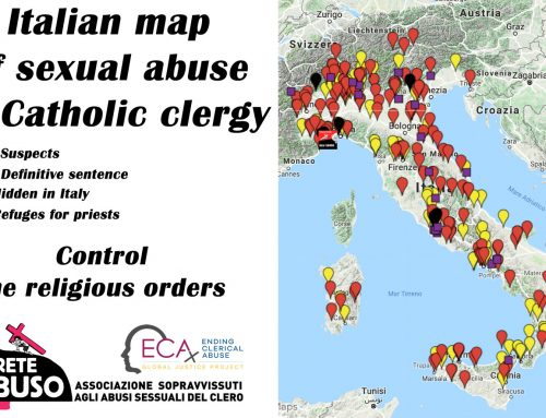 Global activists present Italian clergy sexual abuse cases to the UN and follow with protest